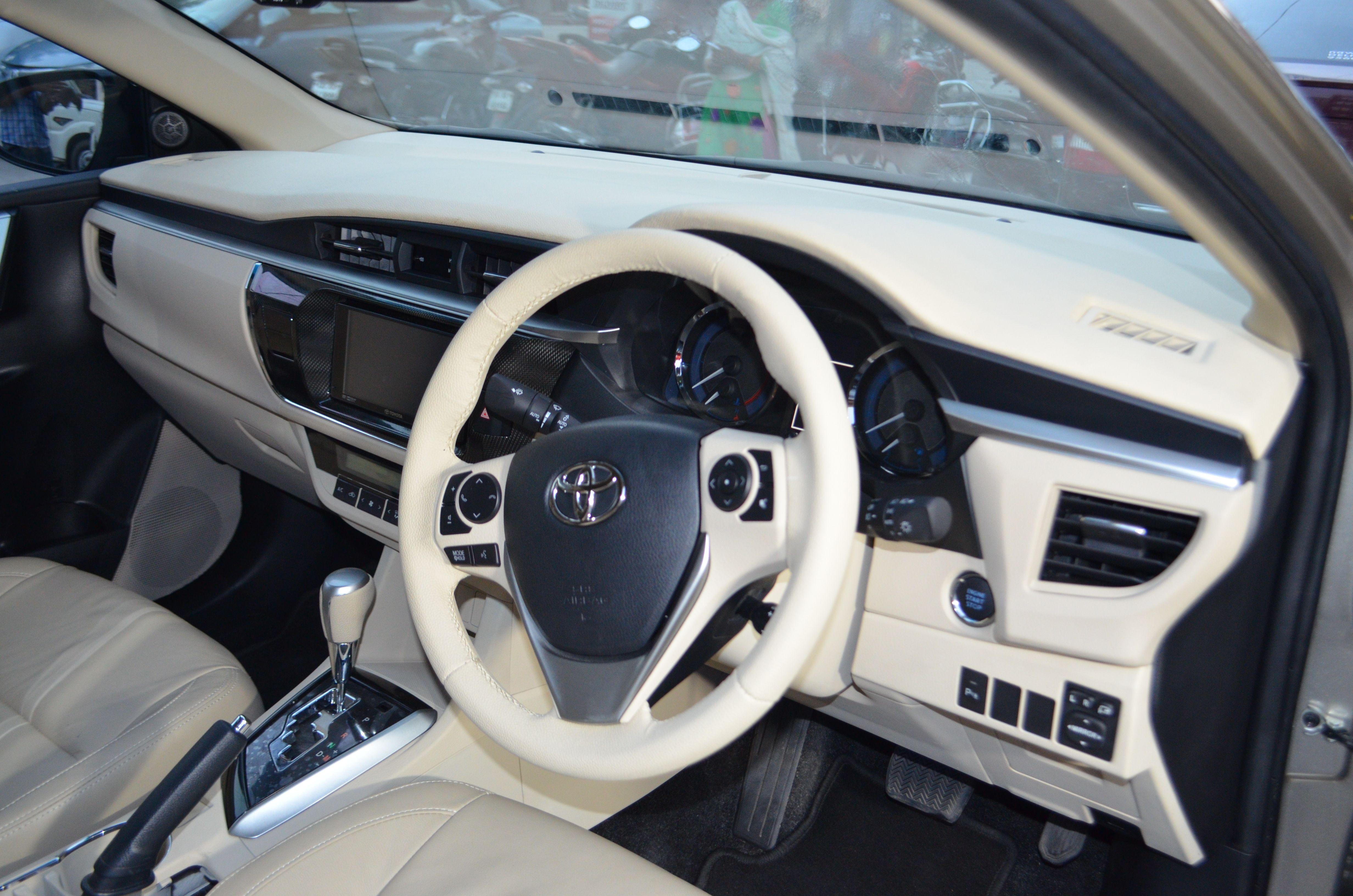Full Interior Design In Toyota Corolla Altis Shop At Carplus Cardesign Interiordesign Caraccessorie Car Interior Car Interior Accessories Car Accessories