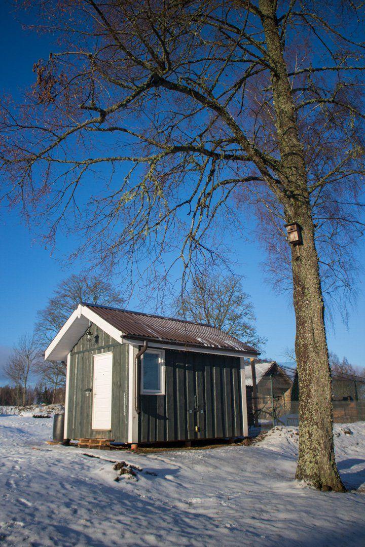 Norwegian style chicken coop Chickens backyard