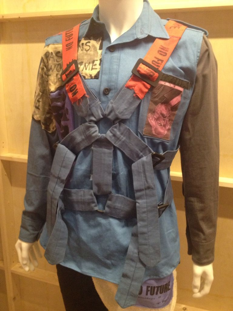 Shirt design toronto -  Viviennewestwood Parachute Shirt At The Politicsoffashion Exhibit At The Design Exchange In
