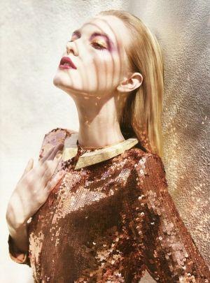 Vlada Roslyakova by Marcin Tyszka for Vogue Portugal July 2010 by margret