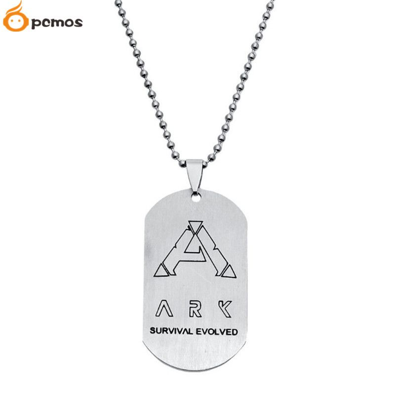 PCMOS] Gaming Toy ARK Survival Evolved Symbol Stainless Steel