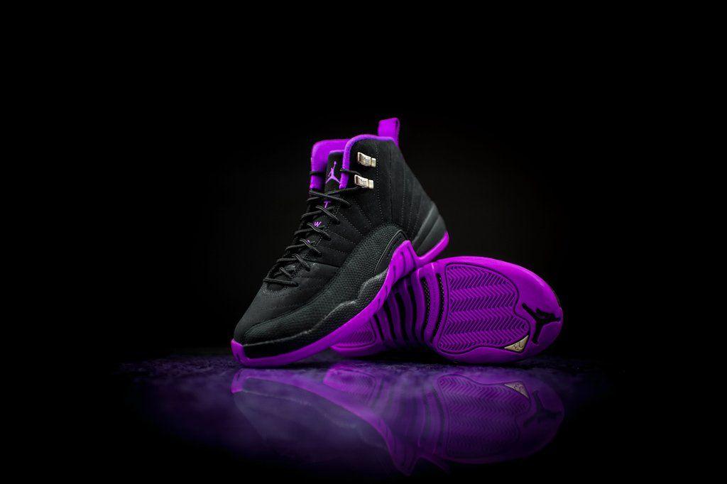 The Air Jordan 12 GS Hyper Violet Drops