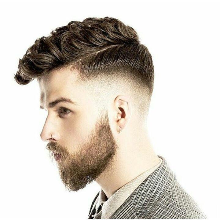 männer seite trennte frisuren #