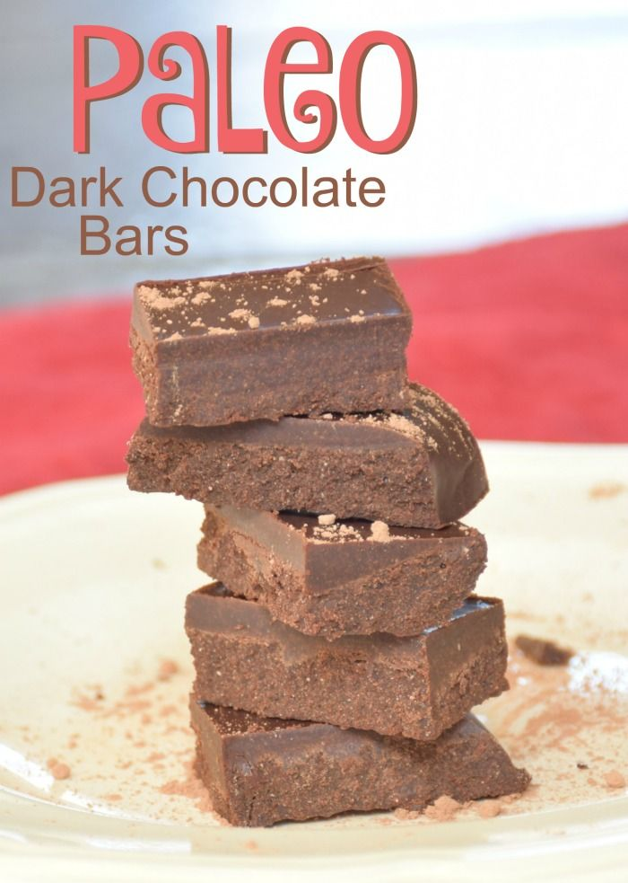 Rich and creamy paleo recipe for homemade chocolate bars. A smooth and decadent recipe designed to delight your senses without a ton of sugar or highly processed ingredients.