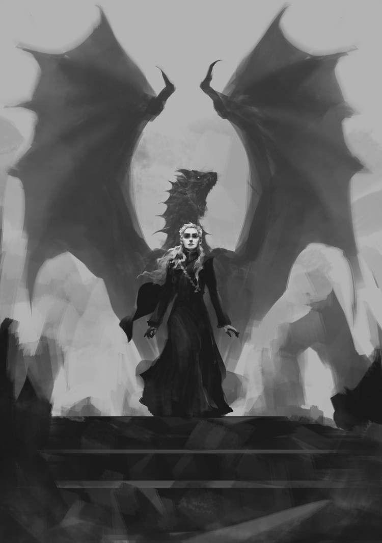 Game Of Thrones Daenerys Targaryen Be A Dragon Game Of