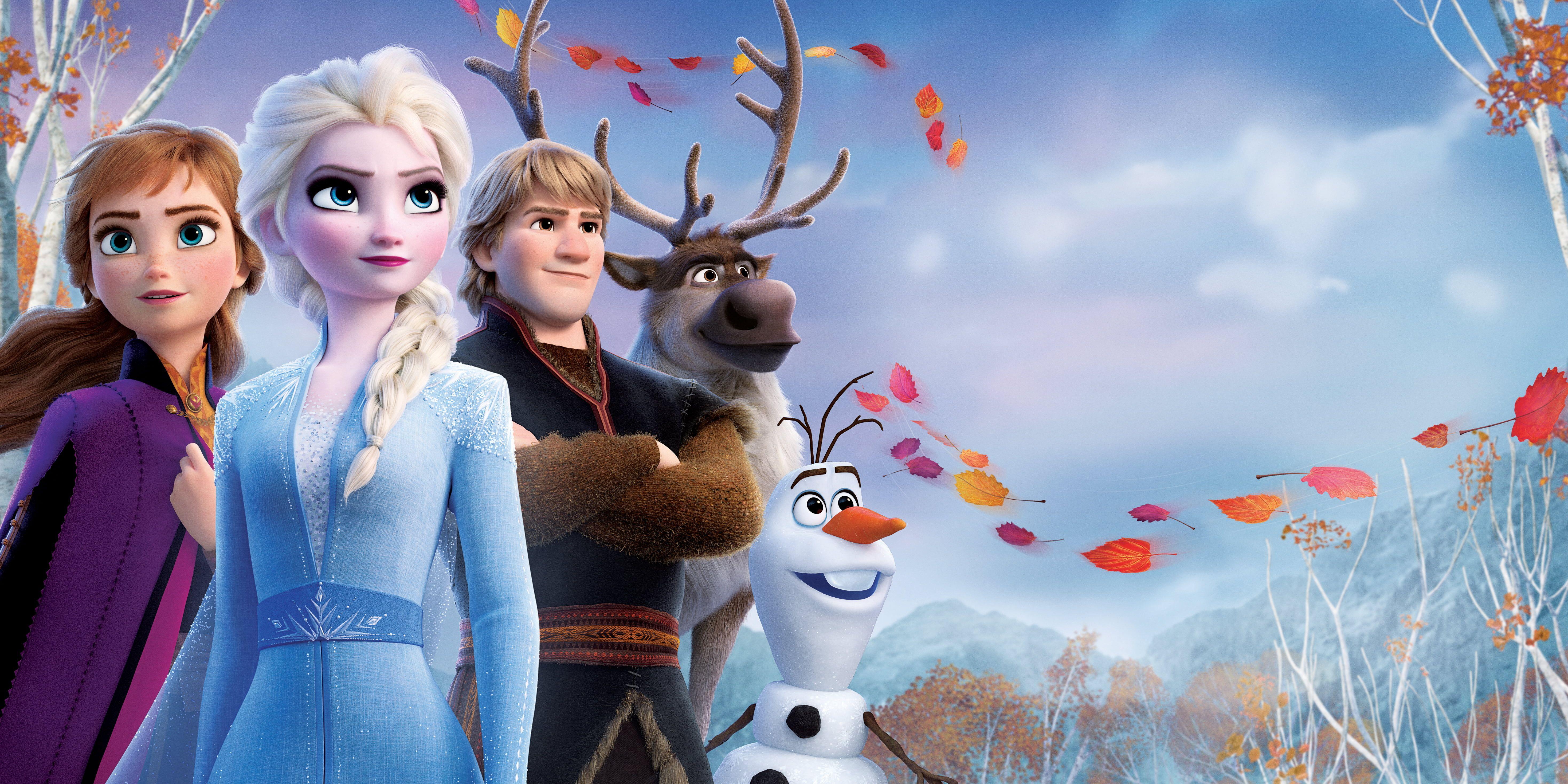 Movie Frozen 2 Anna Frozen Elsa Frozen Kristoff Frozen Olaf Frozen Sven Frozen 5k Wallpaper Hdwallpaper Frozen Wallpaper Pet Logo Design Frozen