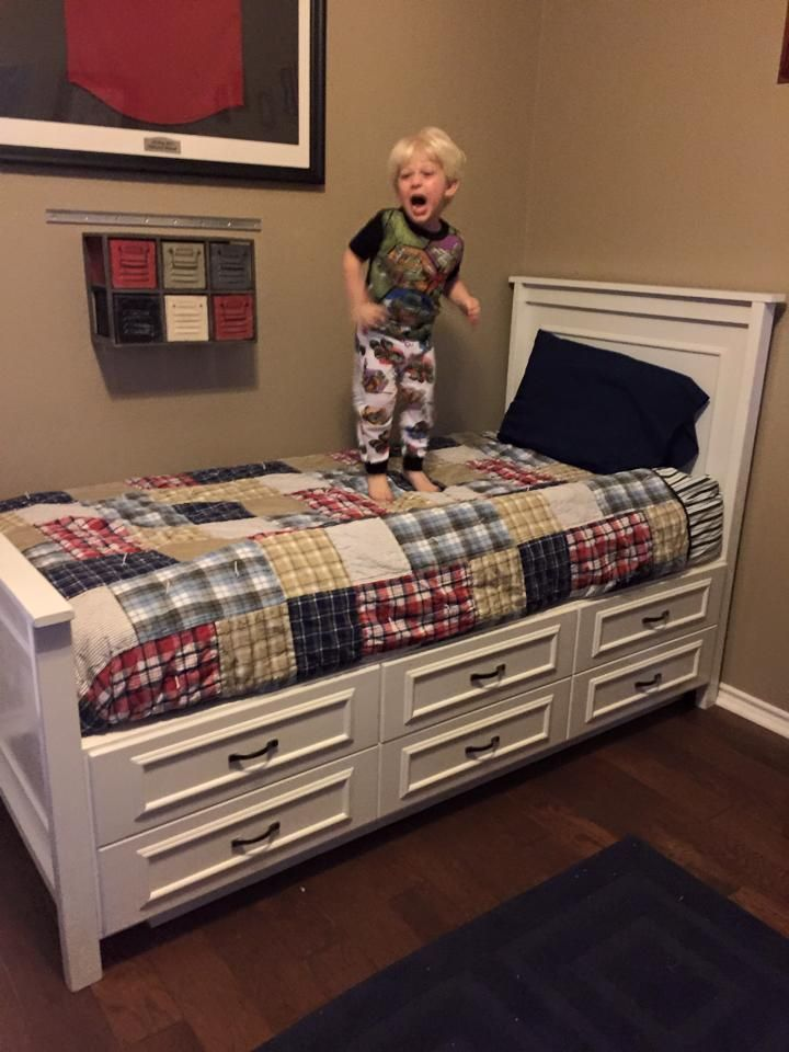 Best Ana White Twin Bed With Storage Diy Projects Twin 400 x 300