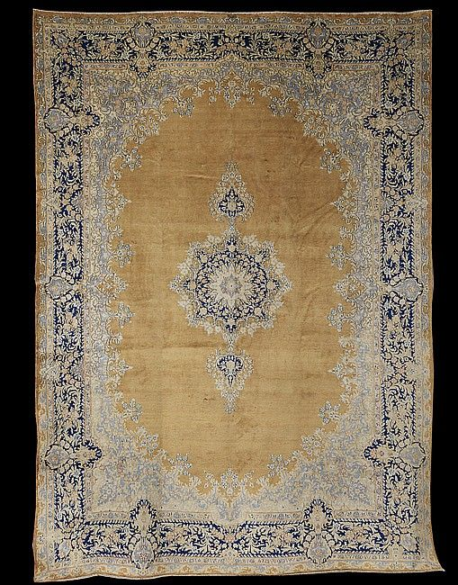 Persian Kerman Carpet 9 5 X 13 Carpet Persian Persian Architecture