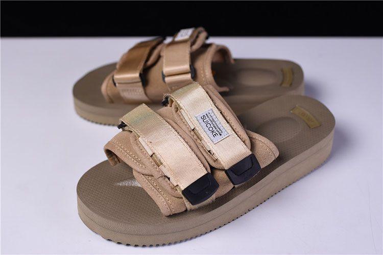 5791900a6263 CLOT x Suicoke MOTO-VS sandals men and women slippers beach shoes beige