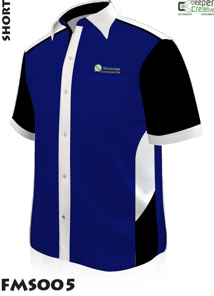 Contoh Baju Korporat Design | Custom printed shirts ...