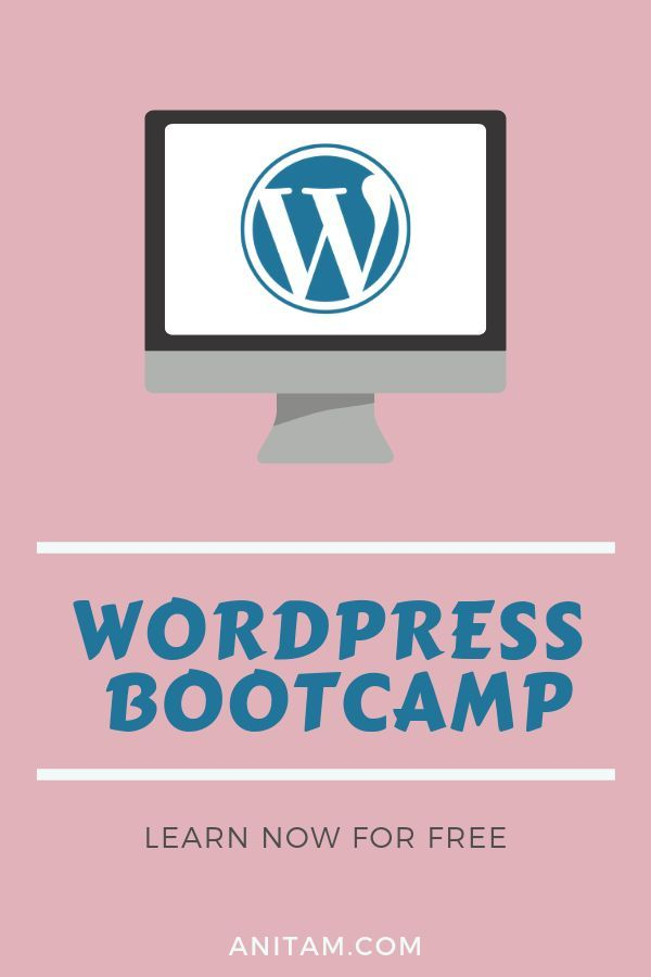 Free Online Course Do You Want To Create Your Website In Wordpress But Not Sure How To Use It Join The Free Learn Wordpress Blogging Advice Learn Web Design
