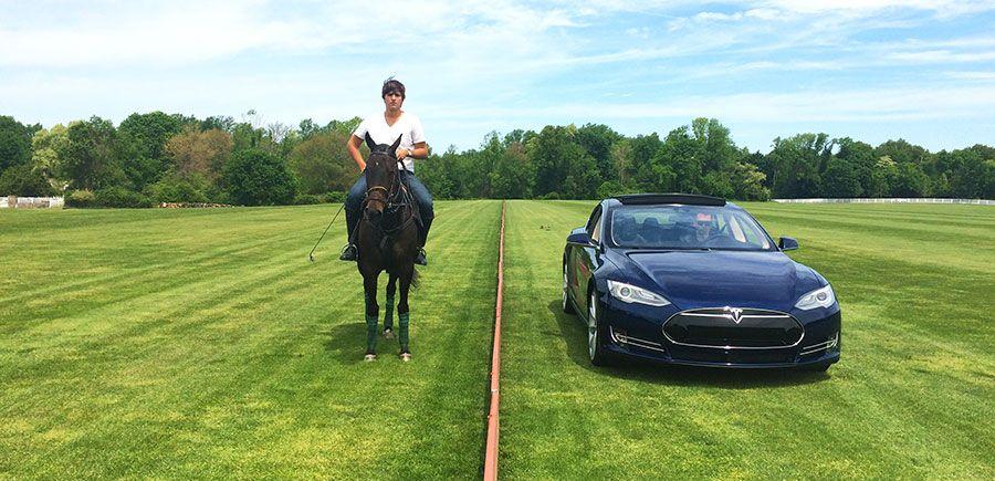 Tsg Equestrian Tesla Tests Its Horse