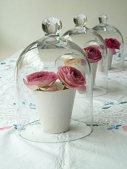 Cute Shabby Chic Table Setting Idea
