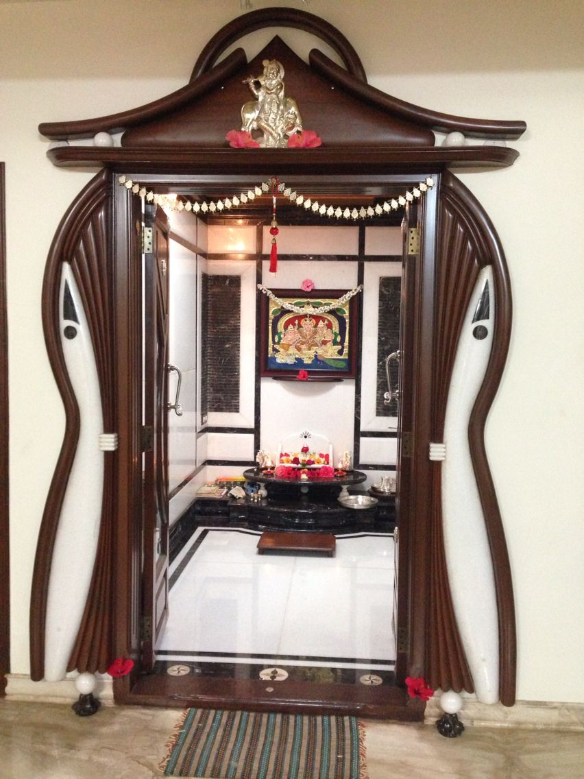 South Indian Pooja Room Home Decor Pinterest Room Puja Room And Doors