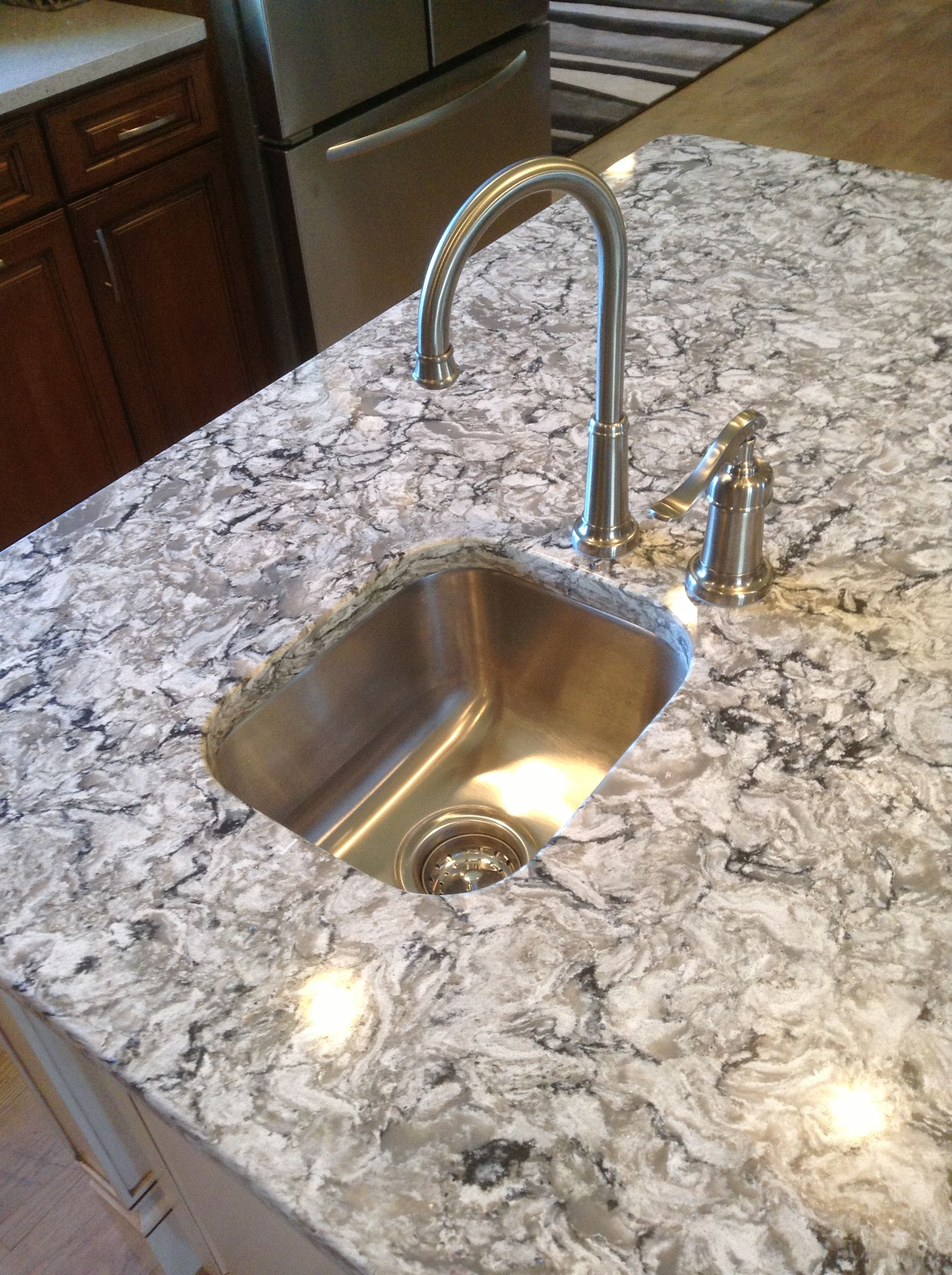 Bar Prep Sink In The Kitchen Island Kitchen Island With