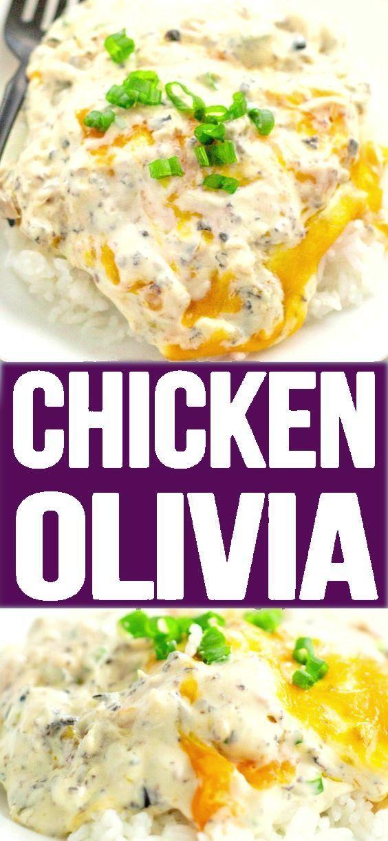 CHICKEN OLIVIA