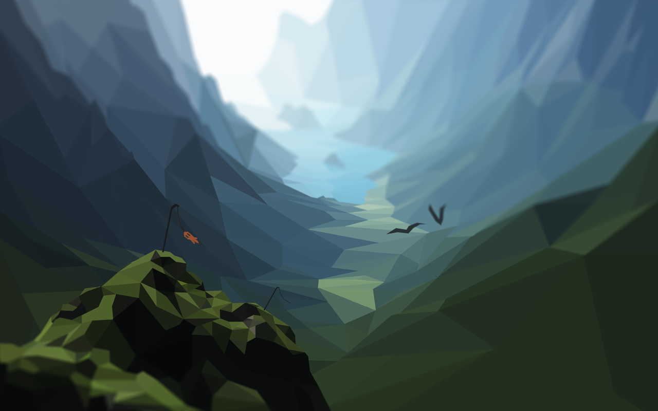 Low Poly Mountains Hd By Plebmaster On Deviantart Mountain Landscape Low Poly Landscape