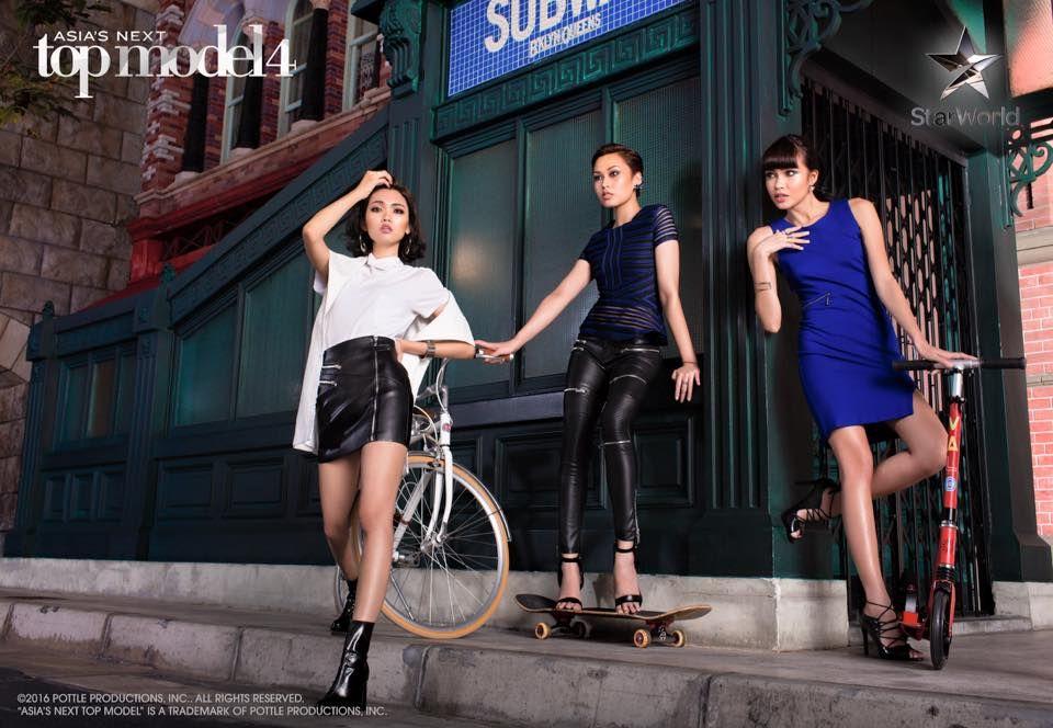 Sang In Kim [South Korea], Aldilla Zahraa [Indonesia] and Julian Flores [Philippines] -- Cycle 4