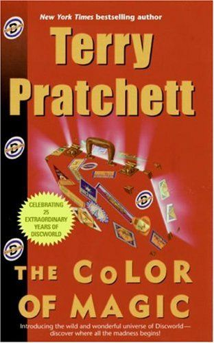 where the wolves read the color of magic by terry pratchett - The Color Of Magic Book