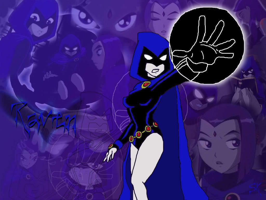 Pin On Raven As In Teen Titans