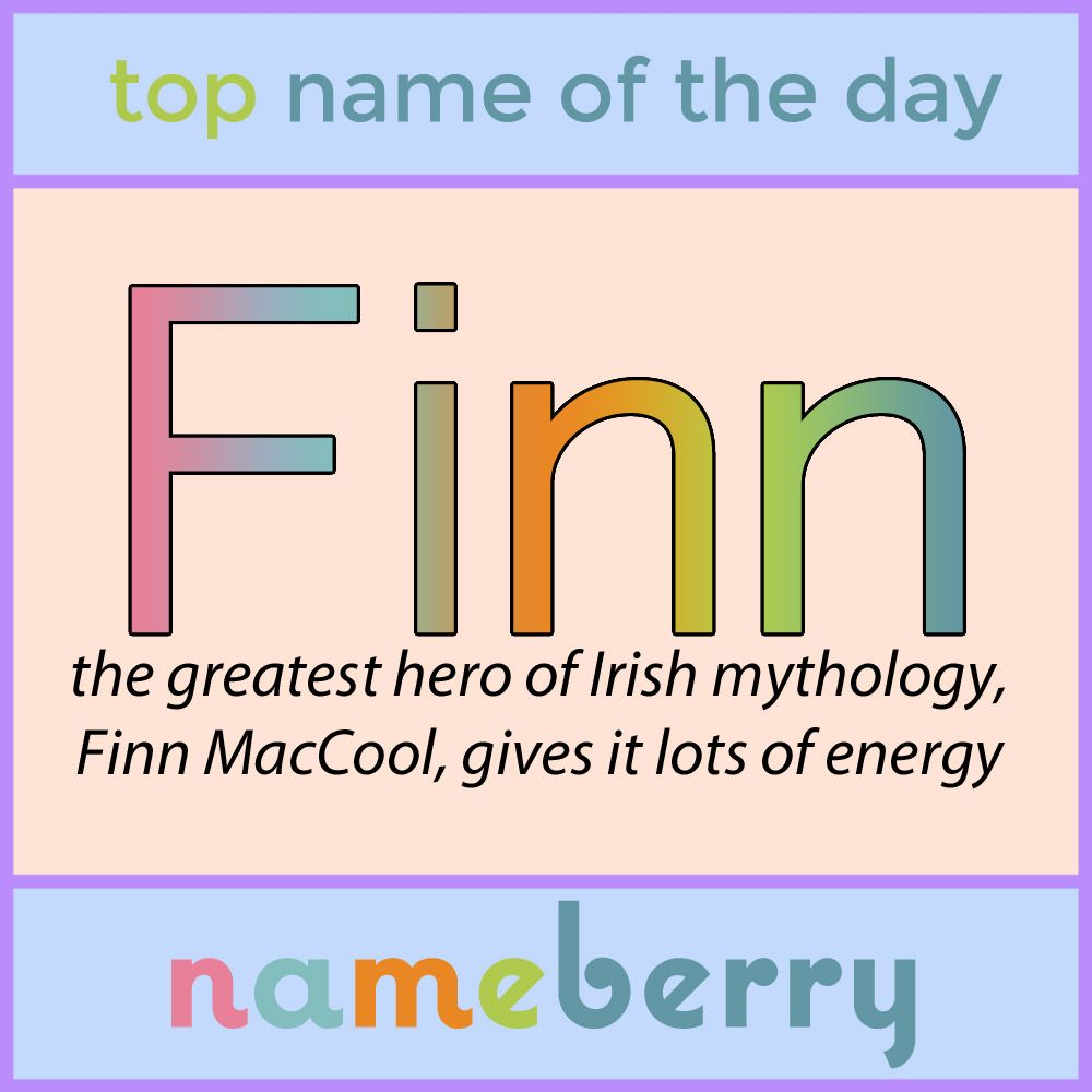 Finn has moved up every year since it entered the U S  pop list in
