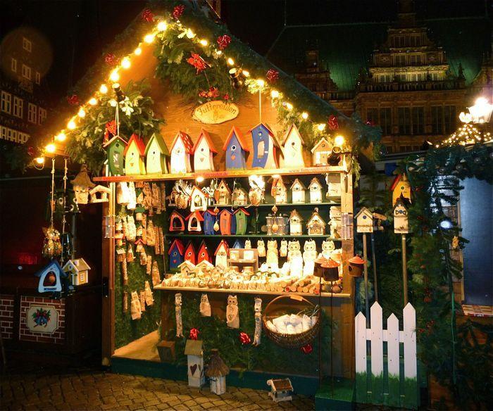 Vogelhaus, Futterhaus, Vogelfutter, Insektenhotel, Nistkasten-Wir stellen auf vielen Weihnachtsmärkten aus, auch auf einem Weihnachtsmarkt in Ihrer Region.