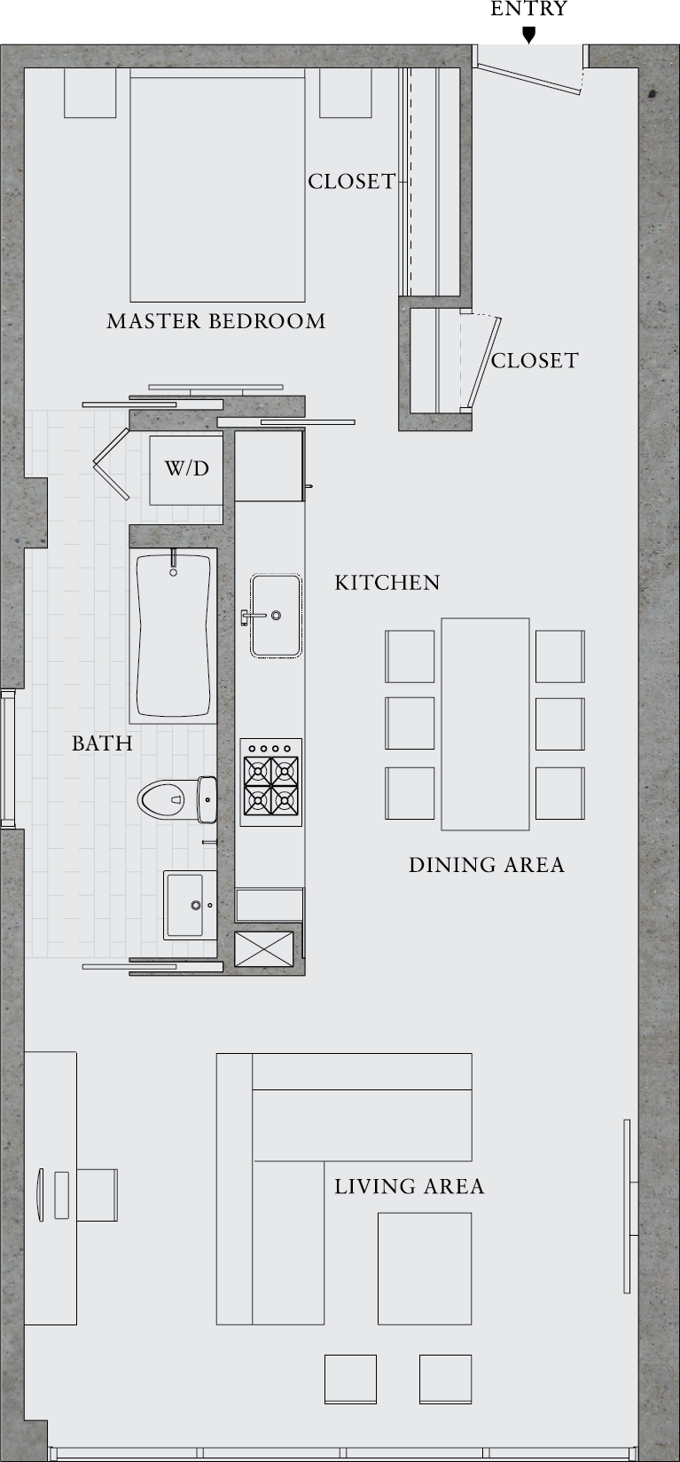 great simple design. Would also make a great rental property  8 Octavia   303