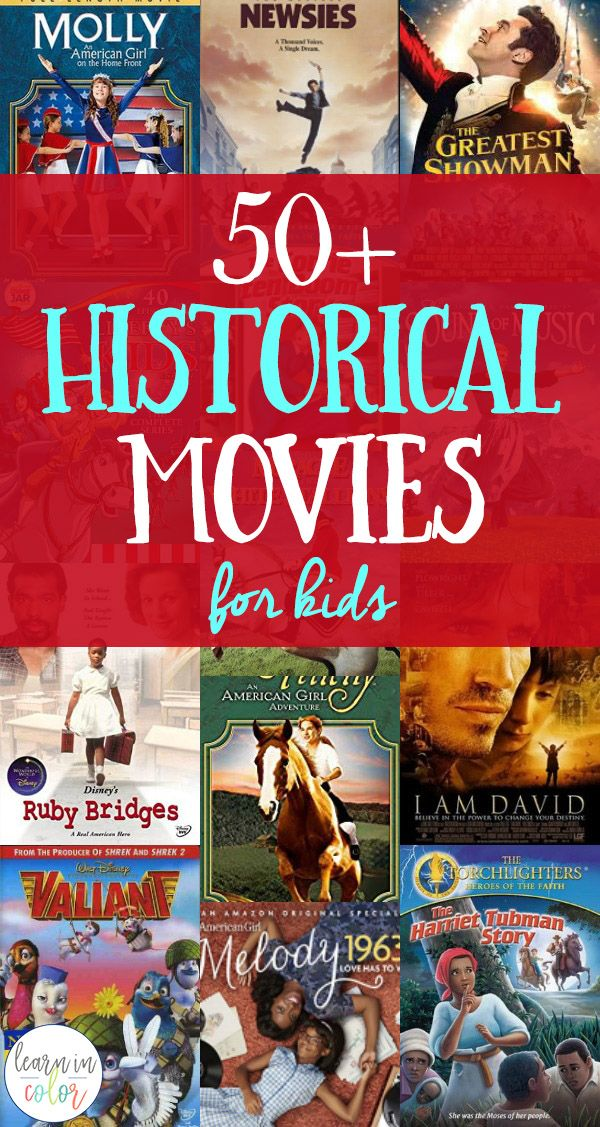Historical Movies for Kids