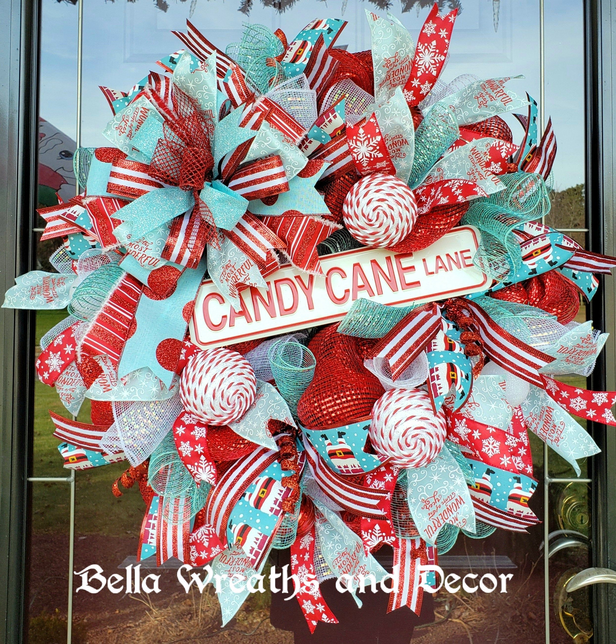 candy cane lane sign Google Search Holiday cheer