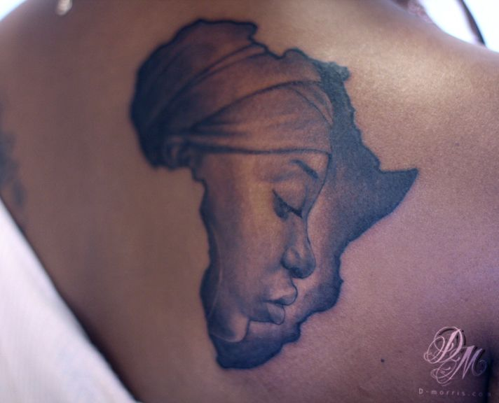 African Queen Tattoos Posted By Somasekhar At 1528 Beauty