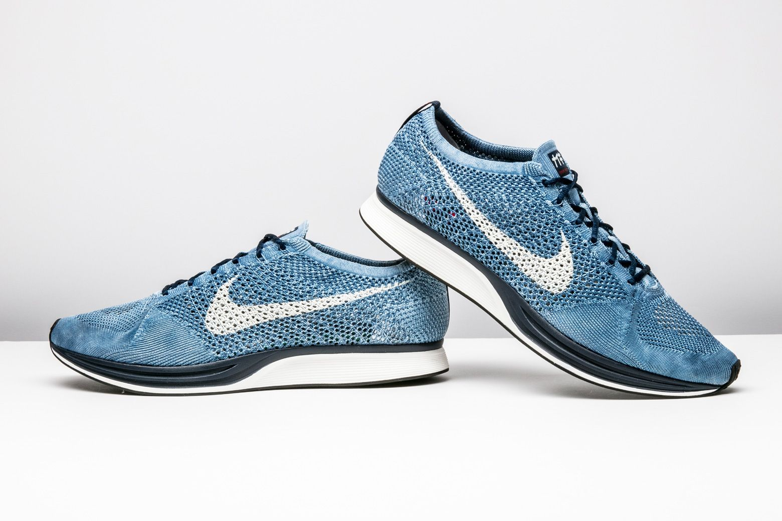 "reputable site e9da1 87c76 Nike created this special-edition ""Indigo"" Flyknit Racer PRM with the 2020  Olympic Games in Tokyo in mind."