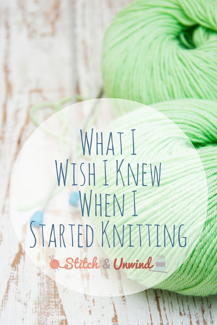 What i wish i knew when i started knitting knitting and weaving what i wish i knew when i started knitting bankloansurffo Images