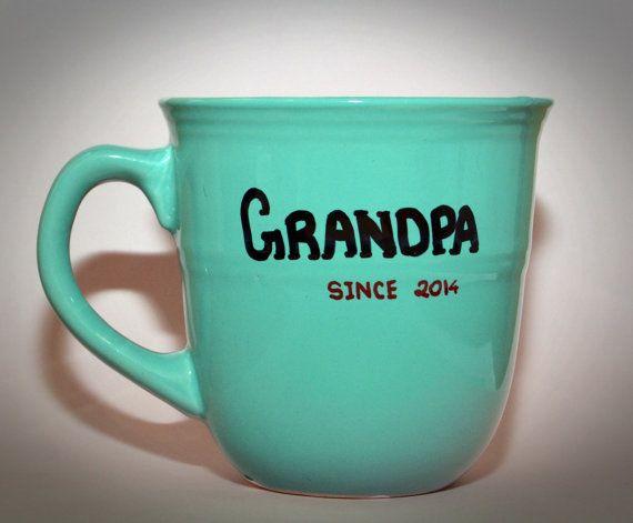 Grandpa Gift Grandma Personalized Mug Custom Coffee Grand Pas Mugs