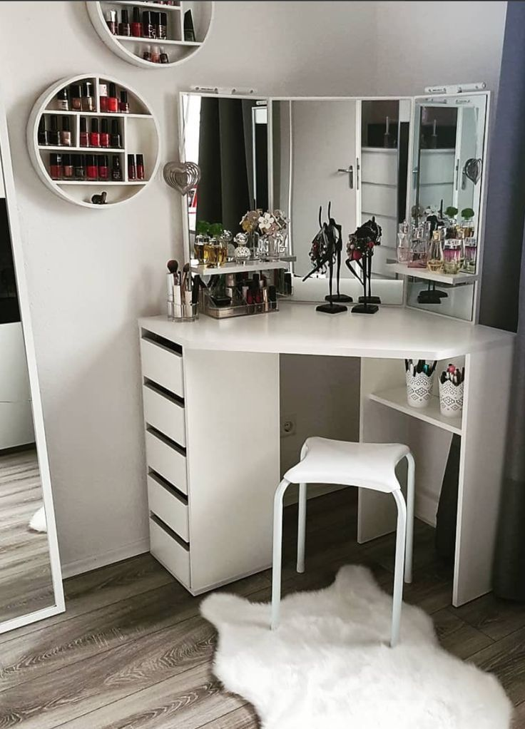 Photo of 15 dressing tables to turn your room into a Hollywood-style dressing room