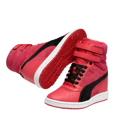 9c641d5149e0e8 Take a look at this Virtual Pink Sky Wedge Sneaker by PUMA on  zulily today!