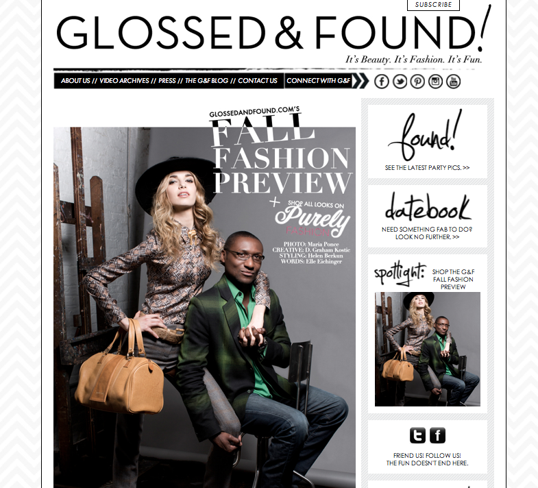 Glossed & Found Fall Fashion Preview with Purely Fashion. Shop all the looks now!