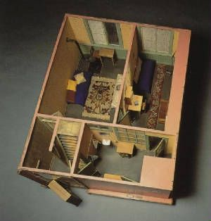 Anne Frank Huis Model Of The Second Floor Of The Annex A