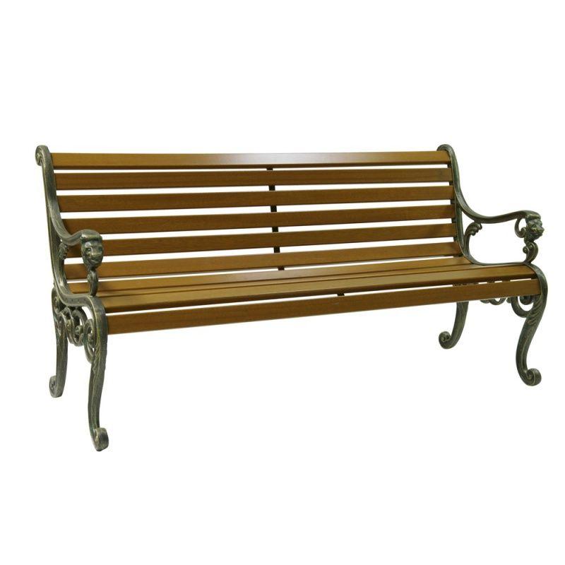 Gartenbank Metall Holz Gartenbank Metall Holz Gartenbank Metall