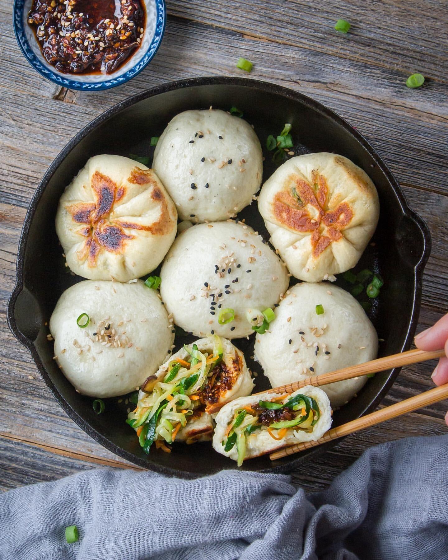 Pan-Fried Zucchini Buns by woon.heng | Quick & Eas
