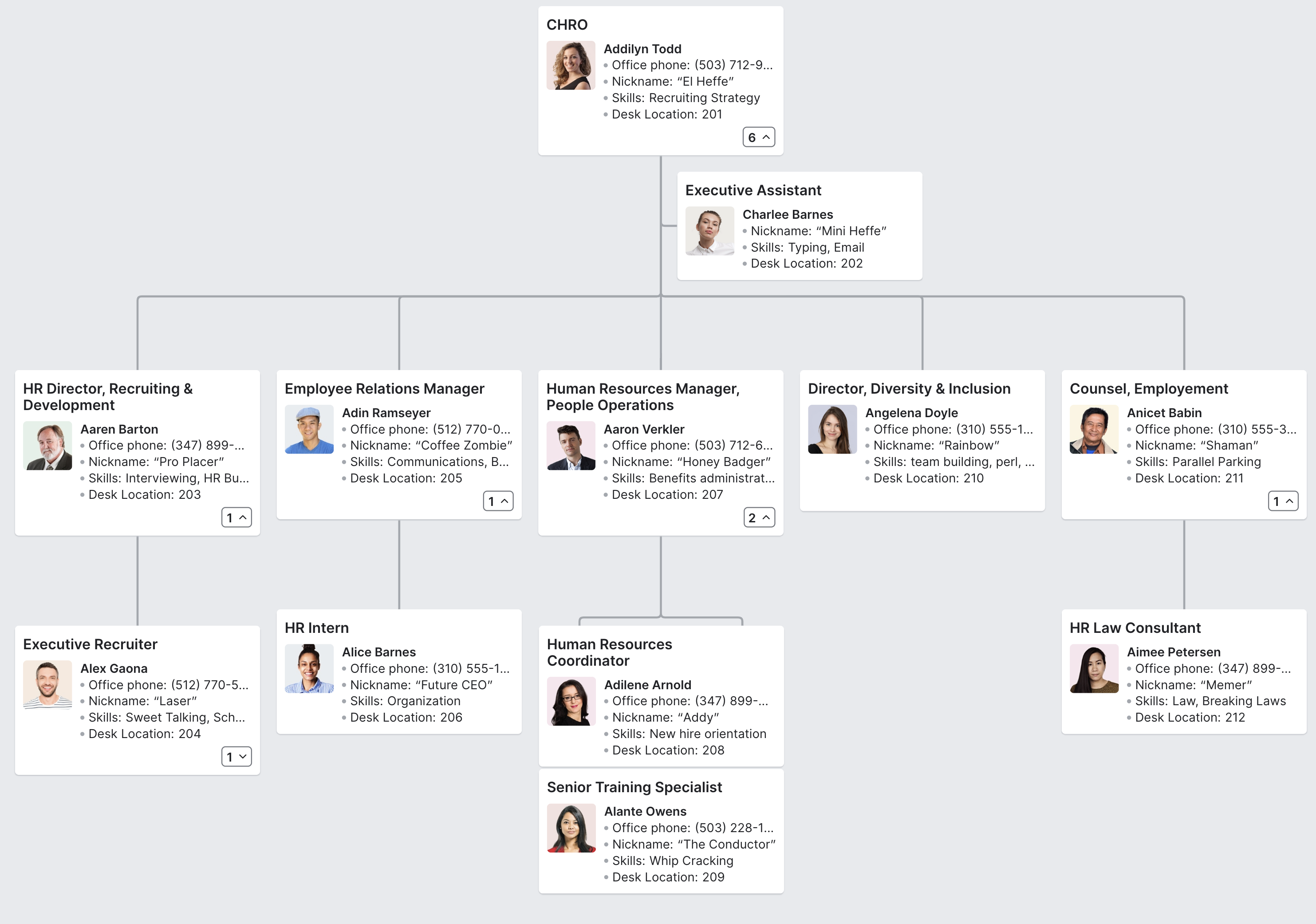 Hr Org Chart In 2020 Org Chart Power Templates