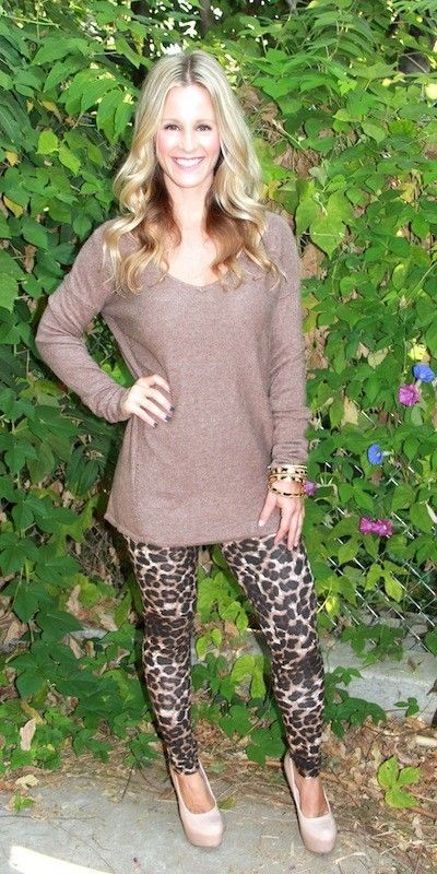 7c88dd9a6ccfe6 Leopard Print Leggings - I just bought these exact ones from Lularoe and  have a grey tunic. Yeah