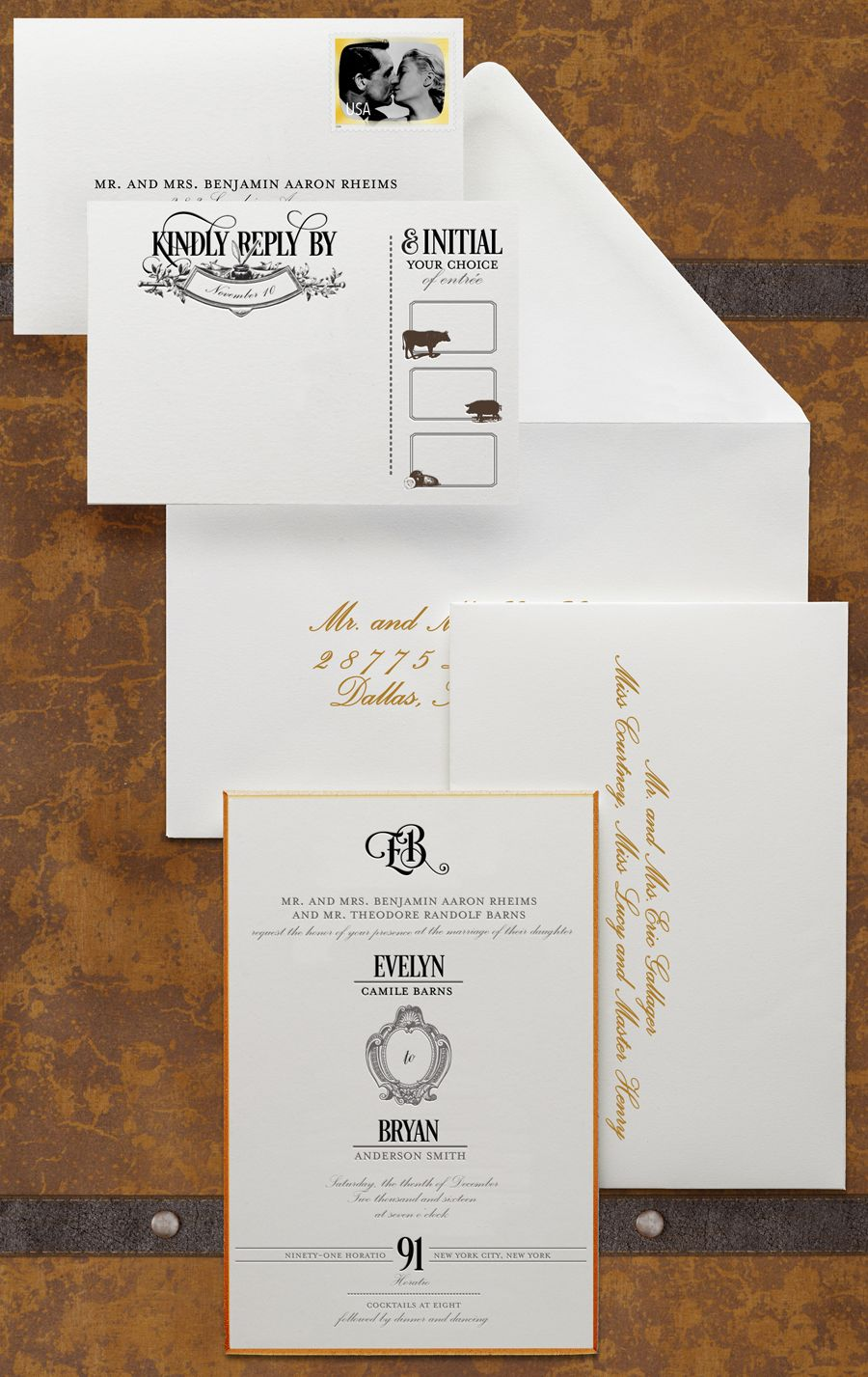 Modern Wedding Invitation Wording Etiquette Wedding Invitation