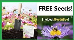 Free Wildflower Packet from Feed a Bee - http://gimmiefreebies.com/topic/feed-bee-free-seeds/