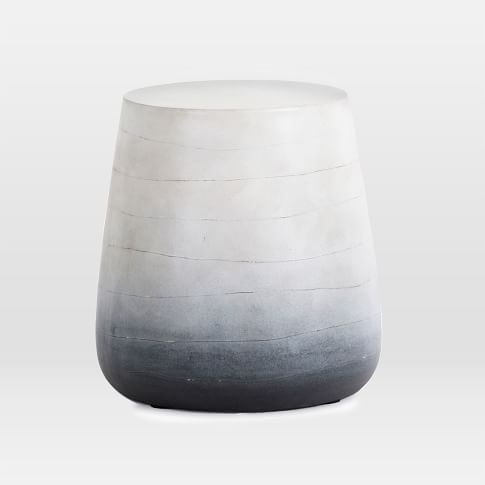 Ombre Side Table Westelm Coffee Side Tables Pinterest - West elm concrete side table