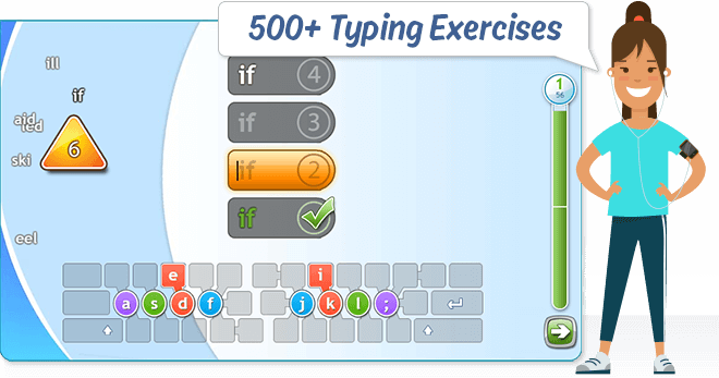 Typing Trainer Online 100 Free Online Typing Web Tutor In 2020 Online Tutoring Education Study Materials