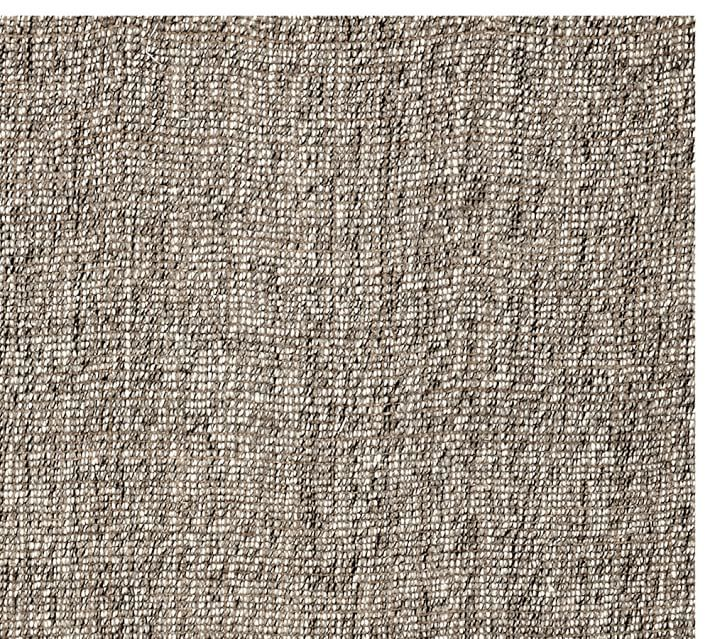 Soft Fast Growing Jute Is Bouclé Woven By Hand Over A Base Of Unbleached Wool To Create This Thick All Natural Rug Shedding Loose Fibers Normal And