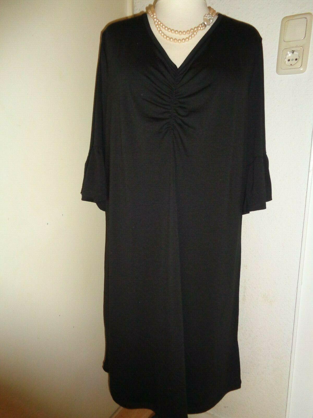 Kleid Schwarz Elegant Festlich Abendkleid Gr 46 48 S Masse Jersey