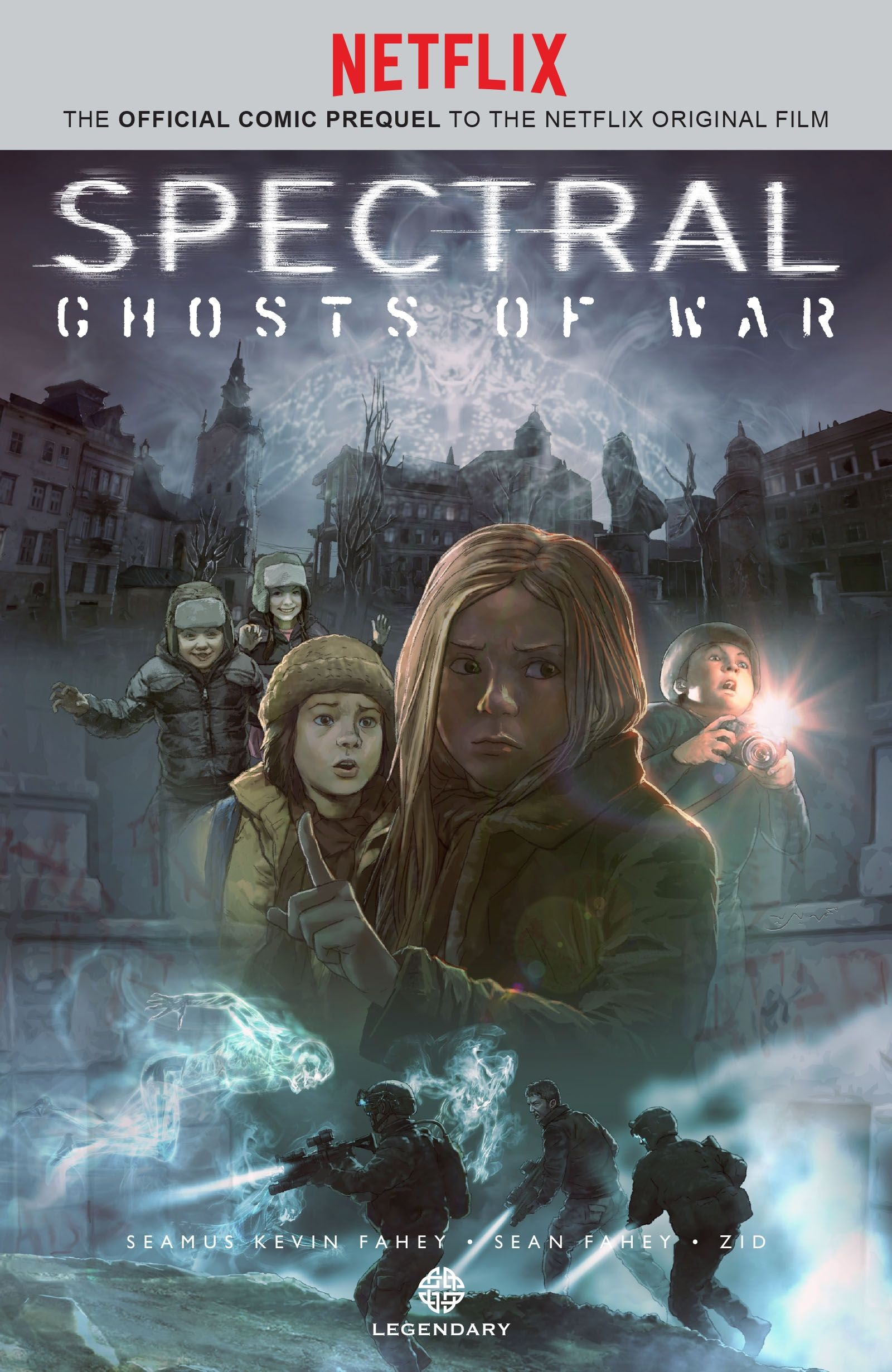 Netflix's Spectral Gets Comic Book Prequel Today