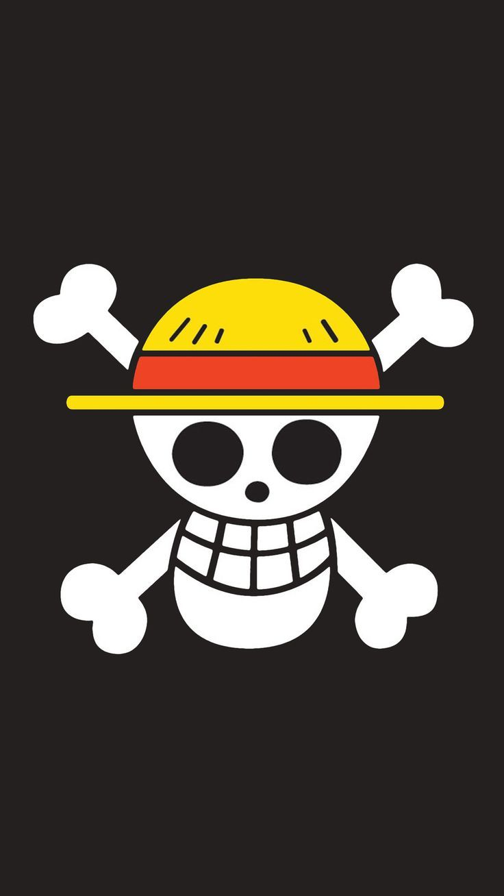 One Piece Wallpaper Iphone 5 Hd Bendera Kartu Simbol