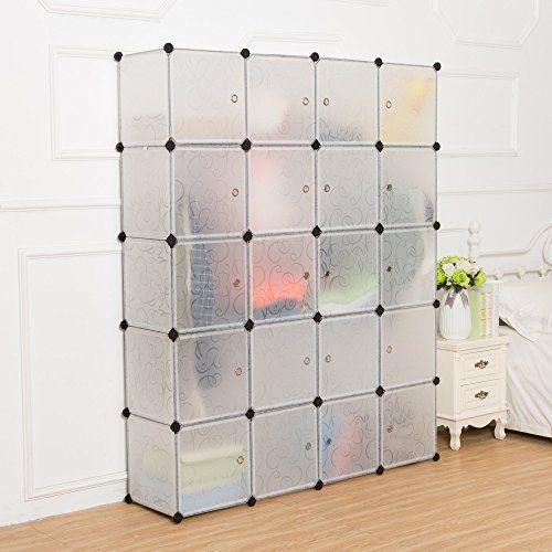 Unicoo Multi Use Diy 20 Cube Organizer Wardrobe Bookc Https Www Amazon Com Dp B017lmne34 Ref Cm Sw R Cube Organizer Bookcase Storage Diy Cube Storage